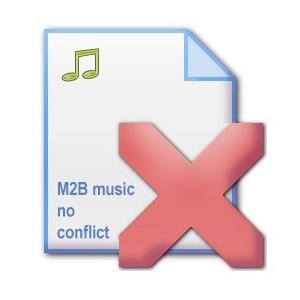 Файл удаления плагина Музыка M2Bmusic no conflict