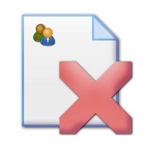 Файл удаления плагина Группы